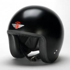Matt Black 24105 - Davida Classic Jet Helmet
