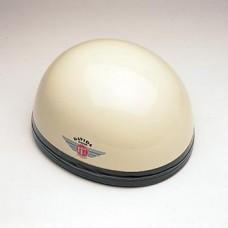 Gloss Cream w/Black Leather 60113 - Davida Classic Helmet