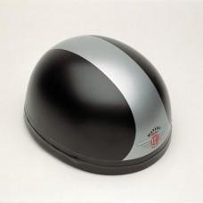 Gloss Black/Silver 60220 - Davida Classic Helmet