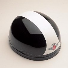 Gloss Black/White 60221 - Davida Classic Helmet