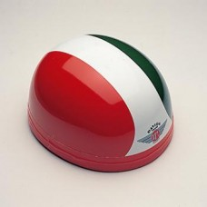 Gloss Red/White/Green 60290-  Davida Classic Helmet